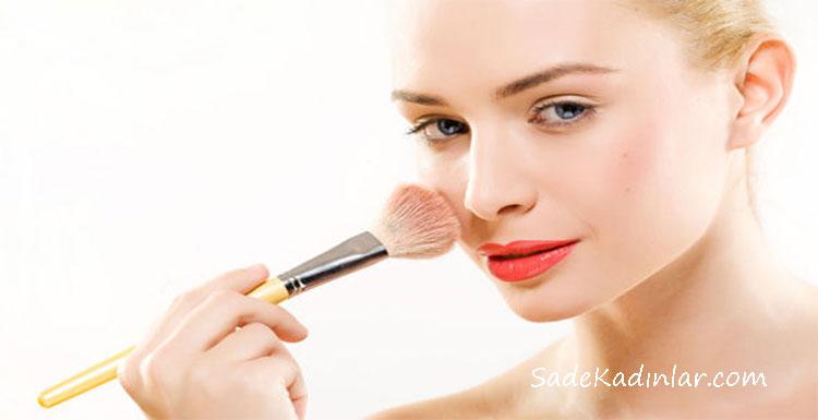 Allık Nasıl Sürülür Yüz Şekline Göre Sade Makyaj Teknikleri