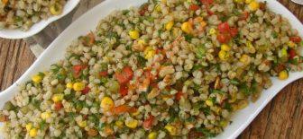 Buğday Salatası Doyurucu ve Sağlıklı Salata Tarifi