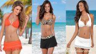 Etekli Bikini Modelleri Son Moda Tarz Bikiniler