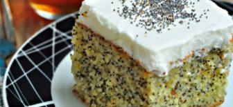 Haşhaşlı Kek Tarifi Farklı Tat ve Enfes Lezzetli Kek