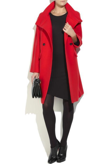 Kış Kombinleri İçin Palto Trendleri DKNY