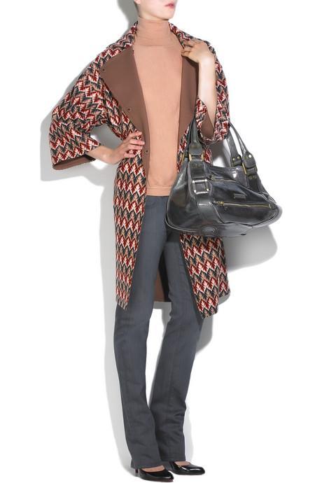 Kış Kombinleri İçin Palto Trendleri Missoni