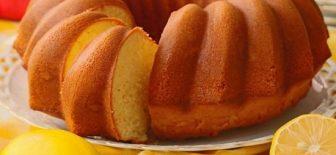 Limonlu Kek Tarifi Aroması ve Mis Kokusu İle Enfes Kek