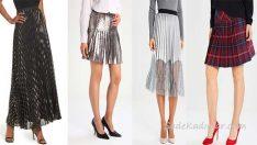 Pileli Etek Modelleri Moda Trendlerini Dolabınıza Taşıyor!