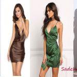 2020 Saten Elbise Modelleri İle Özel Davetlere İpeksi Bir Dokunuş