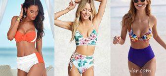 Yüksel Bel Bikini Modelleri Plajların Yeni Gözdesi!