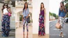 Çiçekli Pantolon Modelleri Şıklığın ve Rahatlığın En Güzel Hali