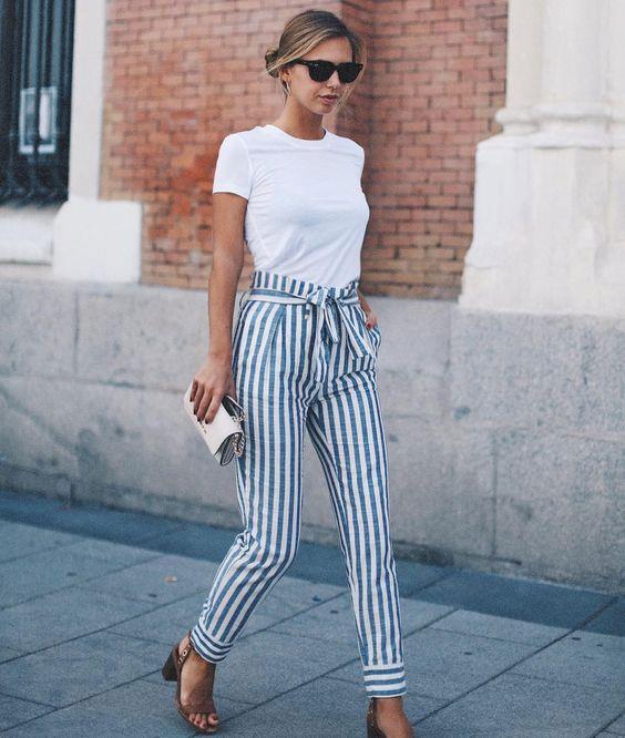 Bayan Pantolon Kombinleri, İlkbahar Yaz Sokak Modası Trendleri
