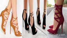 Bağcıklı Topuklu Ayakkabı Modelleri Yeni Sezon Trendleri