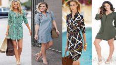 Gömlek Elbise Yazın Sıcağında Rahat Ve Şık Elbiseler