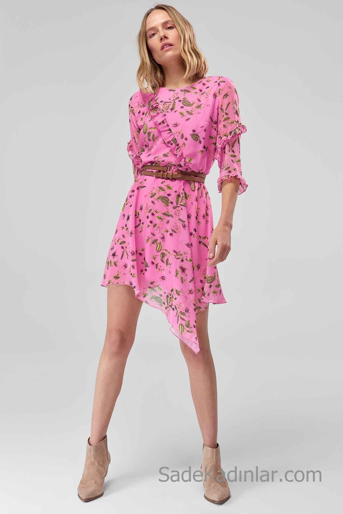 Moda Günlük Orta Yaş Elbise Modelleri