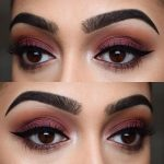 2018 Kahverengi Göz Makyajı