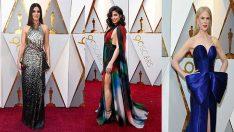 Oscar Ödülleri'nde Dünyaca Ünlü İsimler Kırmızı Halı'da Büyüledi!