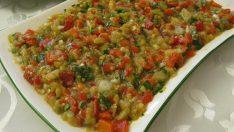 Patlıcan Salatası Her Yemeğin Yanına Yakışan Salata Tarifi