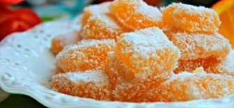 Portakallı Lokum Tatlı Bir Atıştırmalık Tarifi