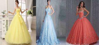 Prenses Model Abiye Nişan ve Düğünlerin Yeni Trendi!