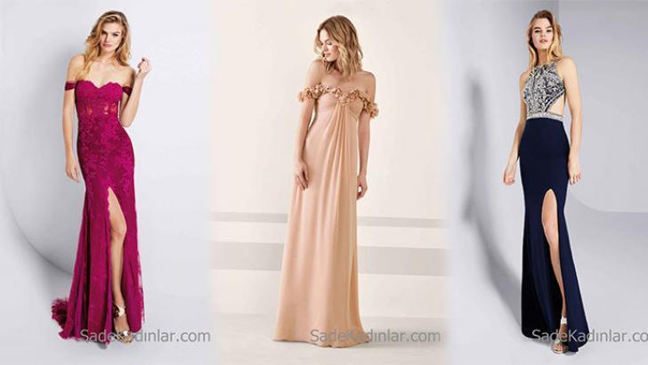 63f63de5790d7 Pronovias 2019 Abiye Elbise Modelleri En Şık Gece Elbiseleri ...