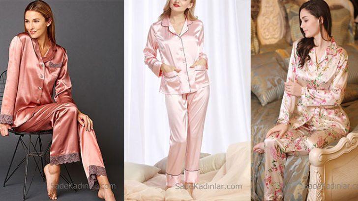 Saten Pijama Takımları Rahat ve Konforlu Uykunun Anahtarı