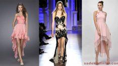 Önü Kısa Arkası Uzun Elbise Modelleri Güzelliğinizi Ortaya Çıkartacak