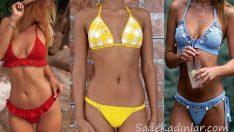 Örgü Bikini El Emeği Göz Nuru Şık Bikini Modelleri