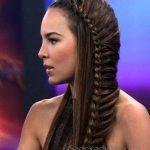 Örgü Saç Modelleri Yandan Şeritli Tekli