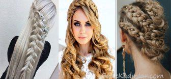 Örgü Saç Modelleri Yapımı Kolay Şık Örgü Saçlar