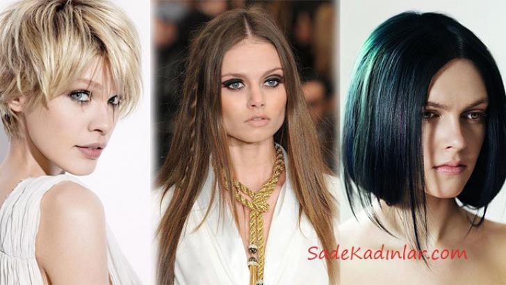 Özel Geceler İçin Saç Modelleri, Kısa ve Uzun Saç Kesimleri