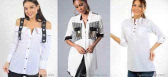 2018 Beyaz Gömlek Modelleri Ünlü Markaların En Şık Gömlek Modelleri