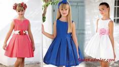2018 Kız Çocuk Abiye Elbise Şık ve Son Moda 10 Yaş Elbise Modelleri