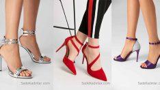 2018 İnce Topuklu Ayakkabı Kadınların Vazgeçemediği Ayakabı Modelleri