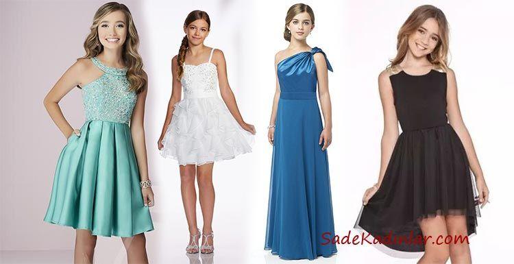 2020 Çocuk Abiye ve Düğün Elbiseleri Genç Kızların Gözdesi