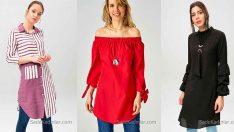 2018 Tunik Gömlek Modelleri İle Yaz Kış Fit Bir Görünüme Sahip Olun!