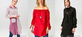 Tunik Gömlek Modelleri İle Yaz Kış Fit Bir Görünüme Sahip Olun!