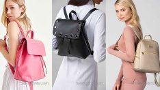 2018 Bayan Sırt Çantası Modelleri Her Kıyafetin Tamamlayıcısı Şık Çantalar