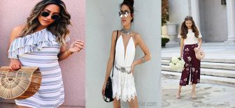 2018 Yazlık Kıyafetler ve Son Moda Trend Günlük Kombinler