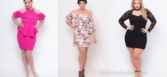 Büyük Beden Yazlık Elbise Özgürce Ruhunu Yansıtabilen Kadınlar İçin