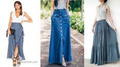 Uzun Kot Etek Modelleri 2018'in En Trend Kıyafetleri