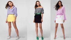 Şık Etek Gömlek Kombinleri İle 2019 Baharı Renklenecek