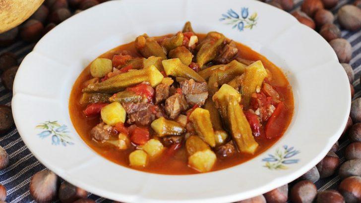 Etli Bamya Yemeği Vitamin Deposu Lezzetli Sulu Yemek Tarifi