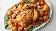 Fırında Bütün Tavuk En Lezzetli ve Pratik Tavuk Tarifi