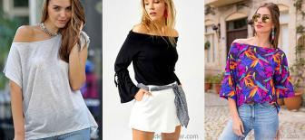 2018 Kayık Yaka Bluz Modelleri İle En Çarpıcı Kadın Siz Olabilirsiniz