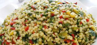 Kuskus Salatası Meze Tadında Çok Güzel ve Pratik Salata Tarifi