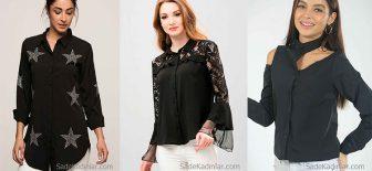 Siyah Gömlek Modelleri Her Tarza Hitap Eden Şık Gömlekler