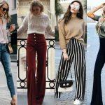 Sokak Modası Bacakları Uzun Göstermek İçin