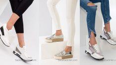 2018 Topuklu Spor Ayakkabı Modelleri İle Rahatlık Ve Şıklığın Tadını Çıkarın!