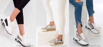 Topuklu Spor Ayakkabı Modelleri İle Rahatlık Ve Şıklığın Tadını Çıkarın!