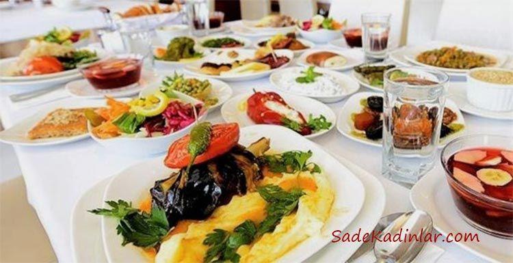 Çabuk Acıkmamak İçin Sahurda Tok Tutacak Yiyecekler