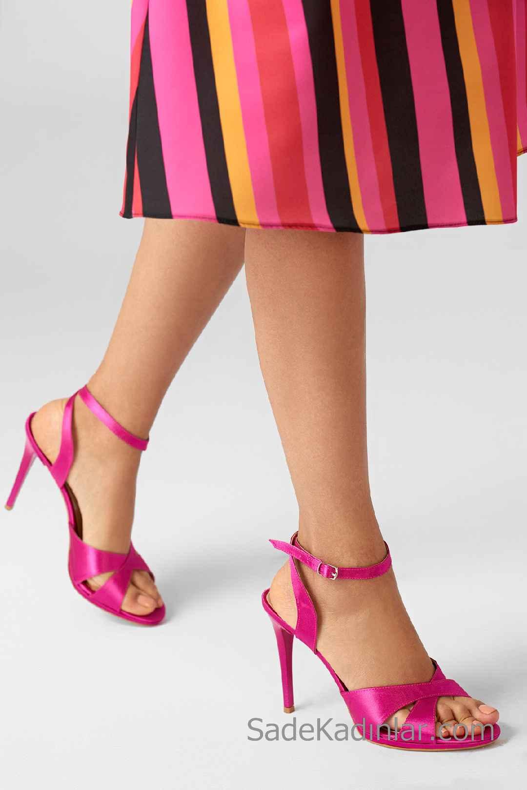 Şeffaf Topuklu Ayakkabı Trendi 2019