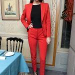 İş Kadınları İçin 2019 Ofis Şıklığı Pantolon Ceket Kombinleri