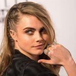 Örgü Saç Modelleri Saç Stillerinde Her Zaman Moda Cara Delevingne